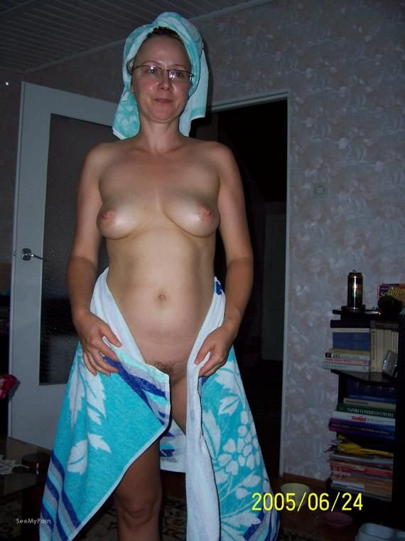 Blonde wife showing off tight body